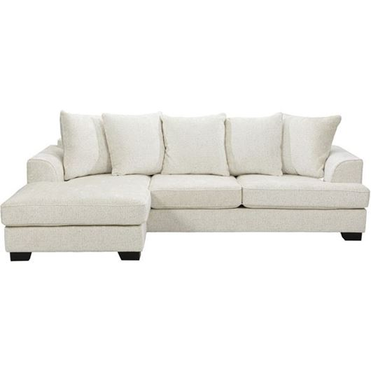 Picture of KINGSTON sofa 2.5 + chaise lounge Left cream