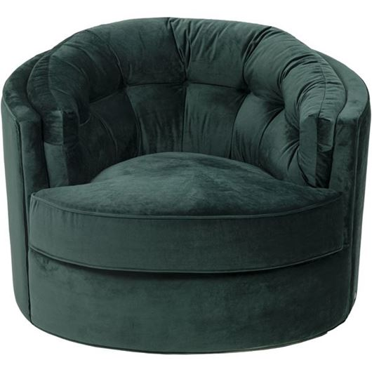Picture of NIGHT armchair microfibre green