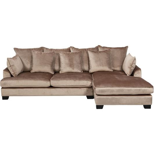 Picture of PORTO sofa 2.5 + chaise lounge Right pink