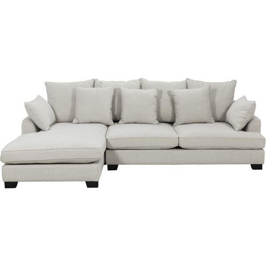 Picture of PORTO sofa 2.5 + chaise lounge Left natural