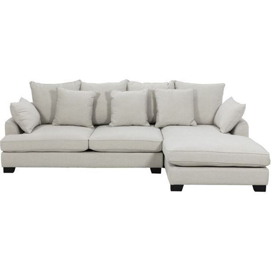Picture of PORTO sofa 2.5 + chaise lounge Right natural