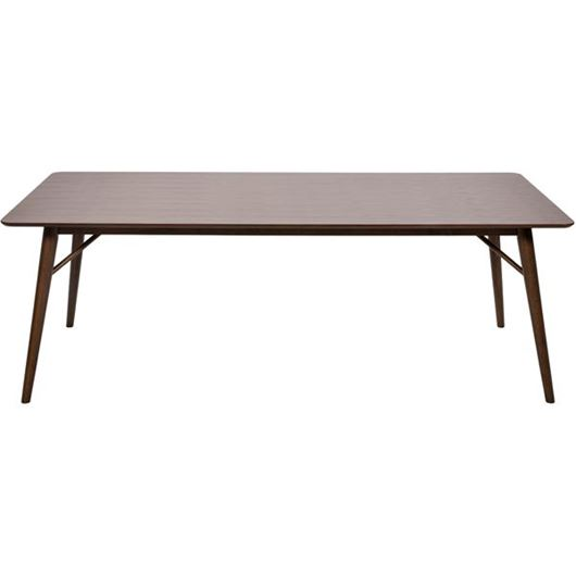 Picture of EVON dining table 220x100 brown