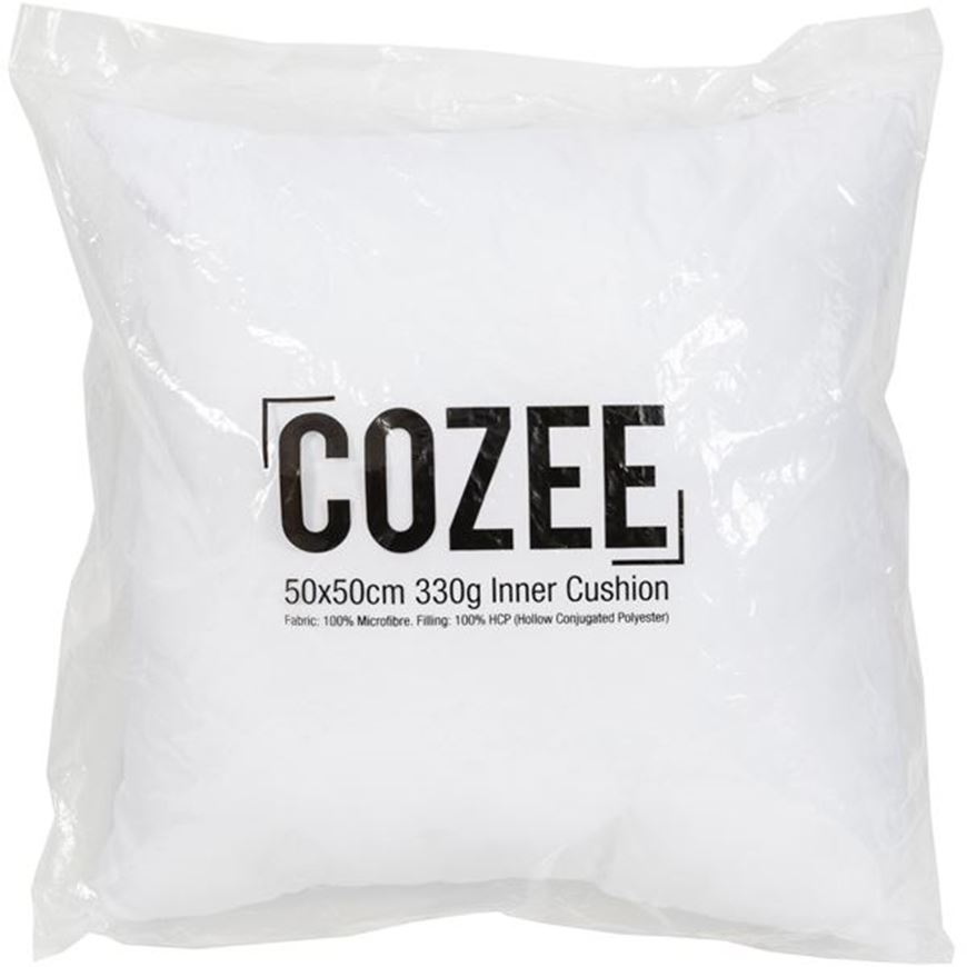 Picture of COZEE inner cushion 50x50 330g white