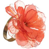 ROBYN napkin ring red/gold