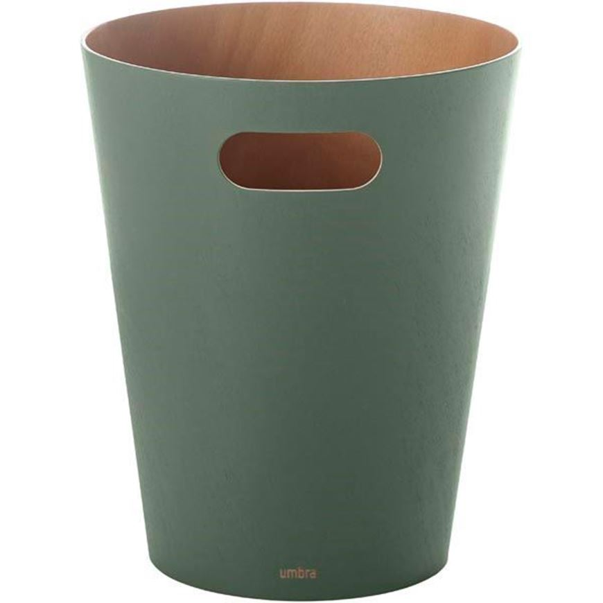 WOODROW waste can green