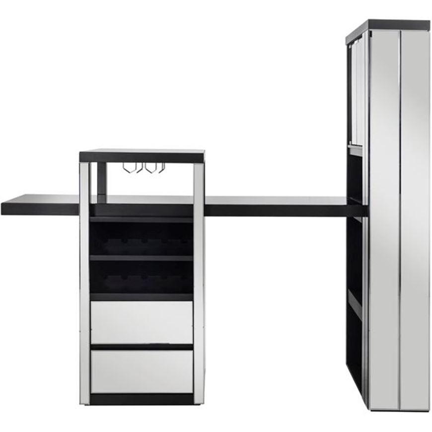 THEFOX counter unit 200x210 grey/black