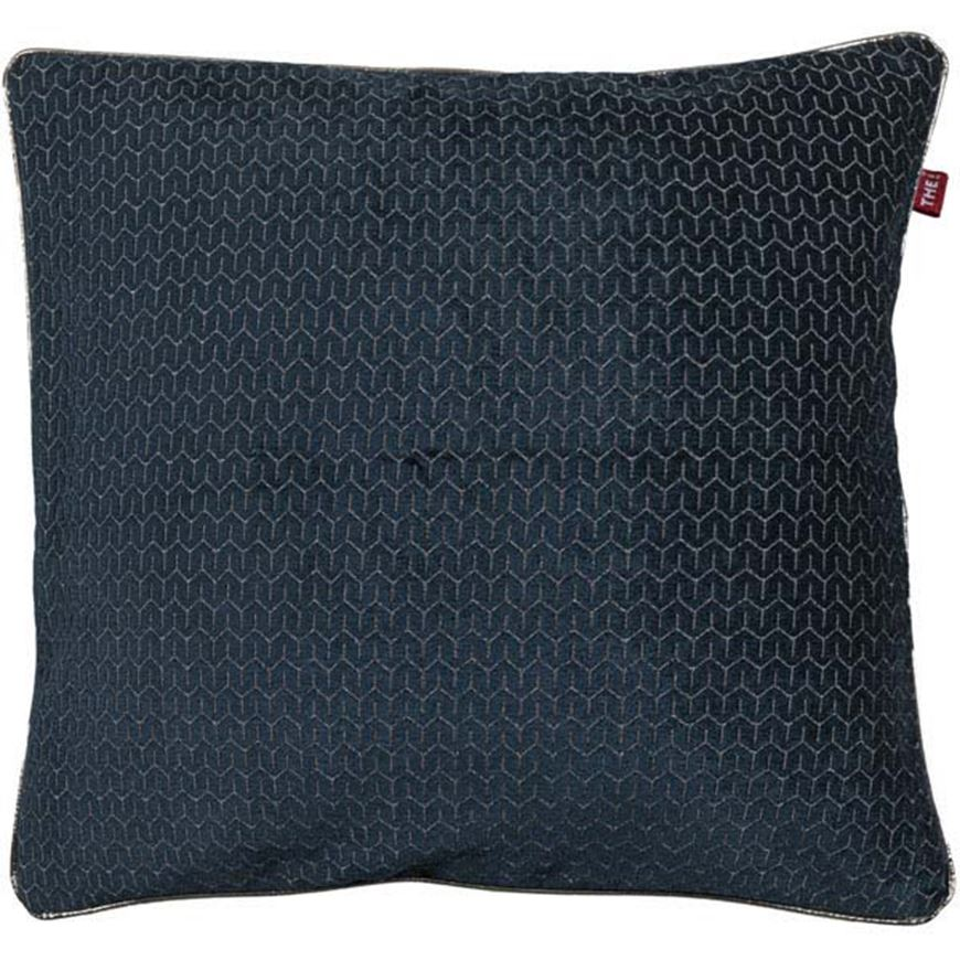 Picture of INDY cushion cover 45x45 blue