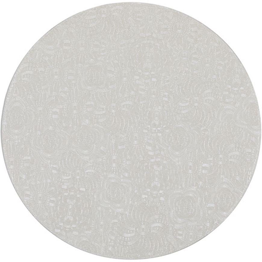Picture of ADANA place mat d40cm white