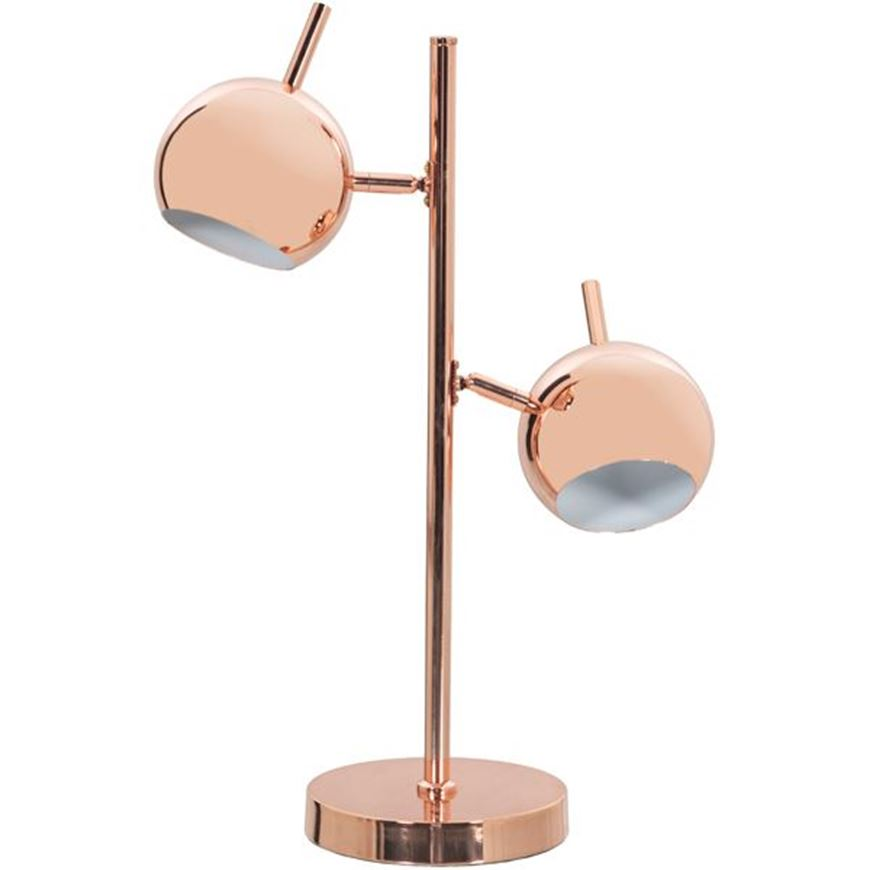 Picture of OSAKA table lamp h52cm copper