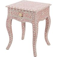 TAAHIRA bedside table pink