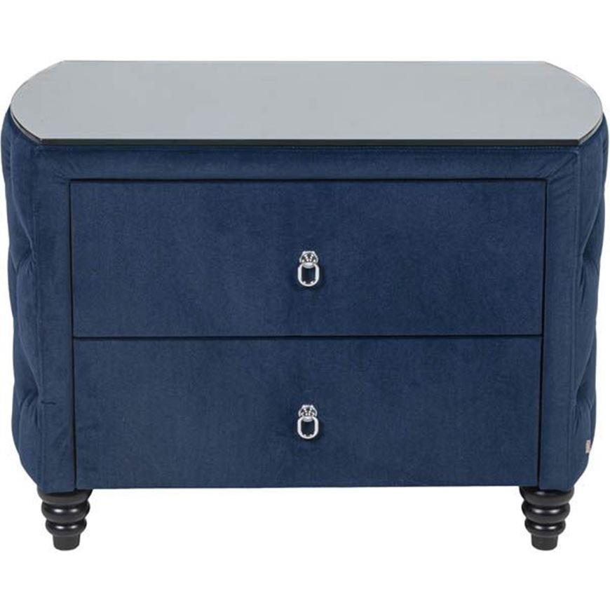 PARCO bedside table blue