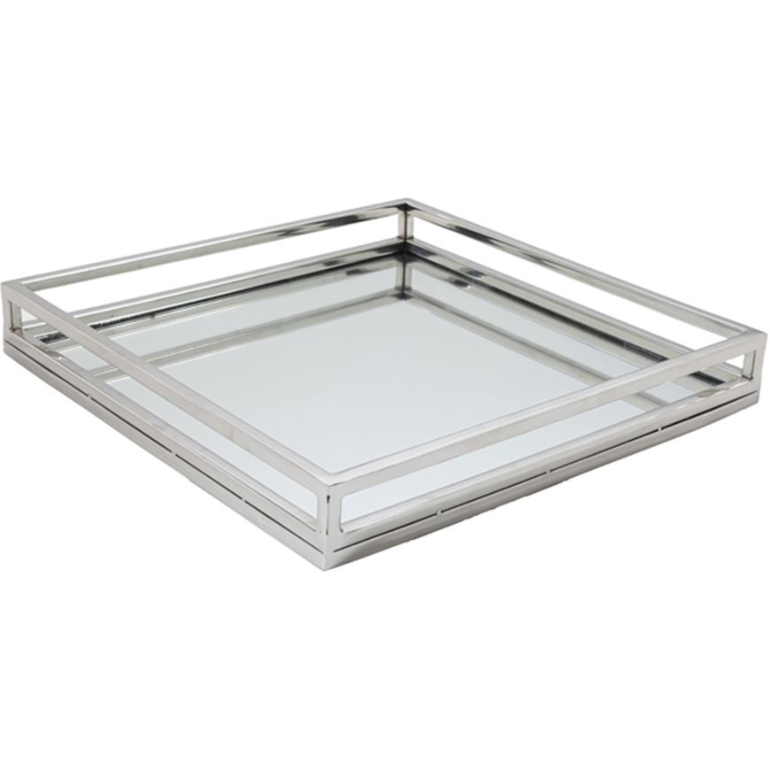 Picture of JOLIE tray 46x46 nickel/clear