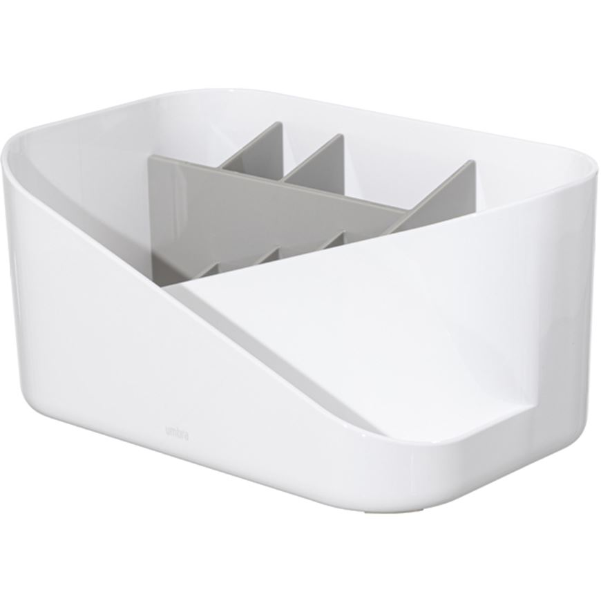 Picture of GLAM cosmetic organiser white