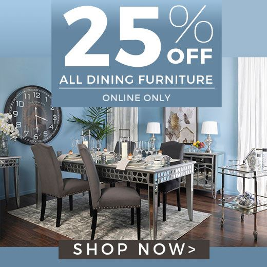 Dining Sale 25% Off