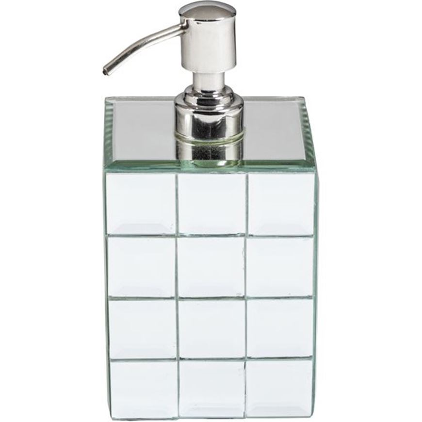 QUBE soap pump clear